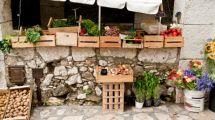des fruits sur un marché