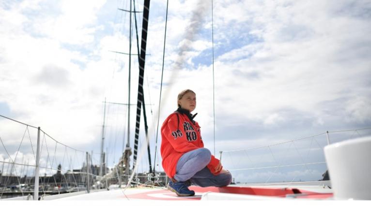 Greta Thunberg voilier traversée transatlantique