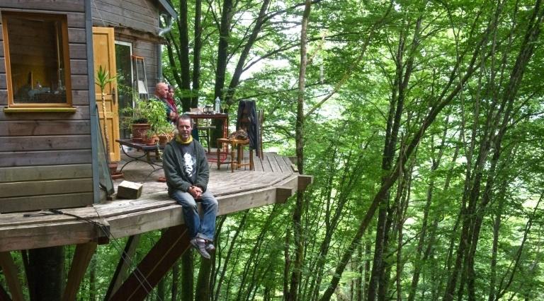 Xavier Marmier et sa cabane dans les bois