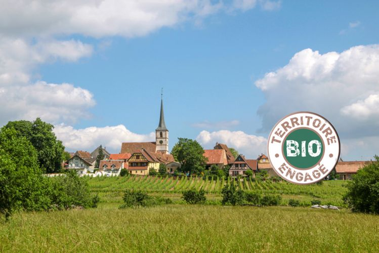 Photo d'un village de campagne française