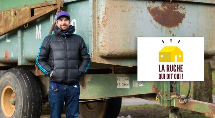 Guilhem Chéron, co-fondateur de La Ruche qui dit Oui !