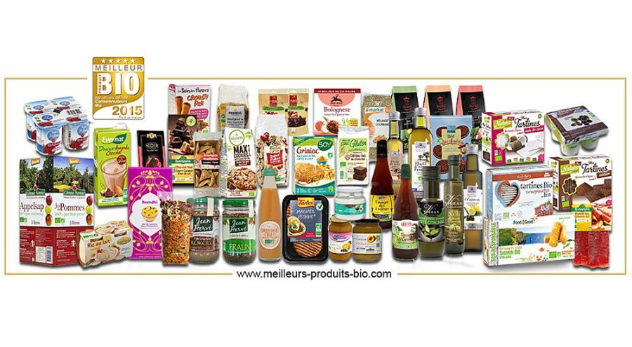 Produits alimentaires lauréats de Meilleurs produits bio