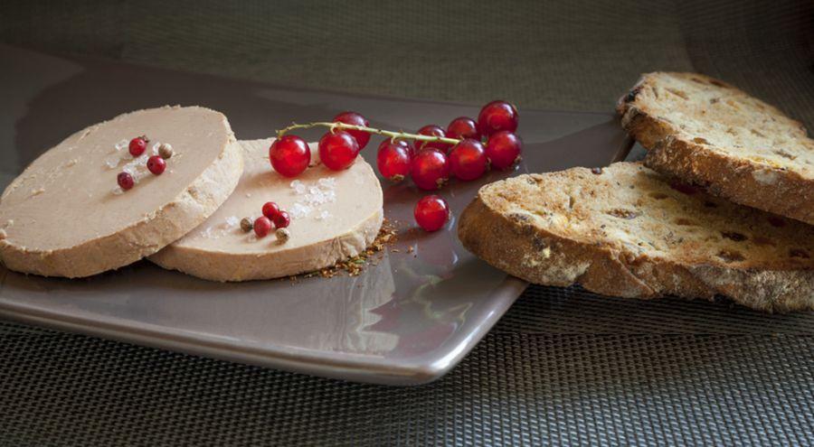 Foie gras sur Plateau