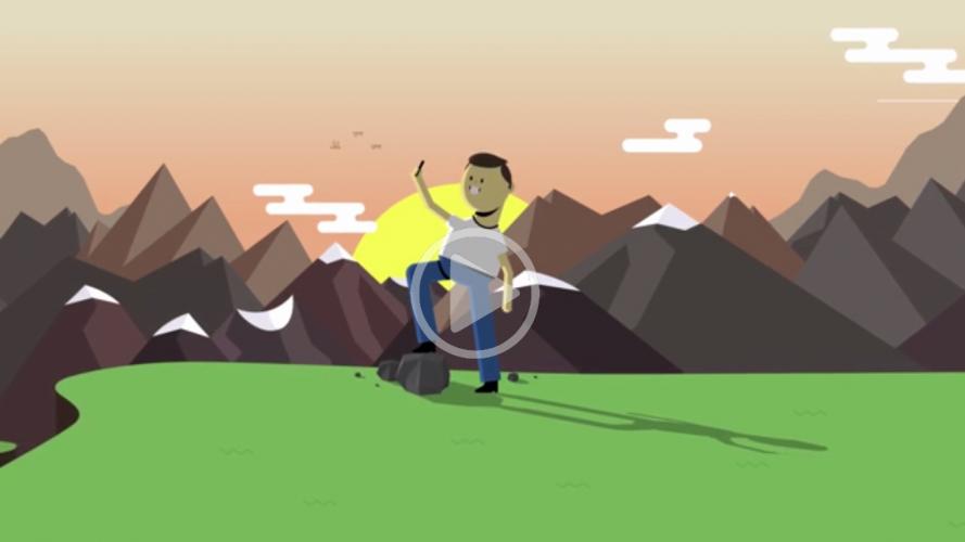 Mr Selfie, film d'animation qui dénonce les accros au portable