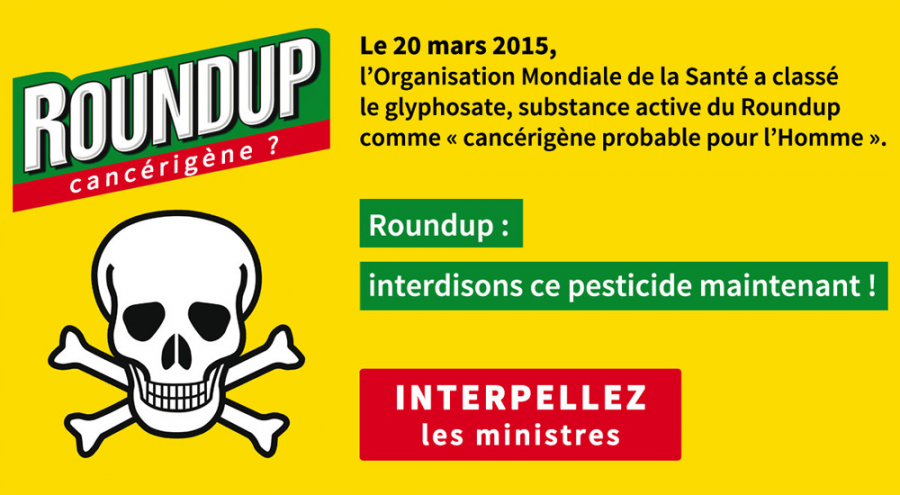 Le round up de monsanto officiellement cancérogène