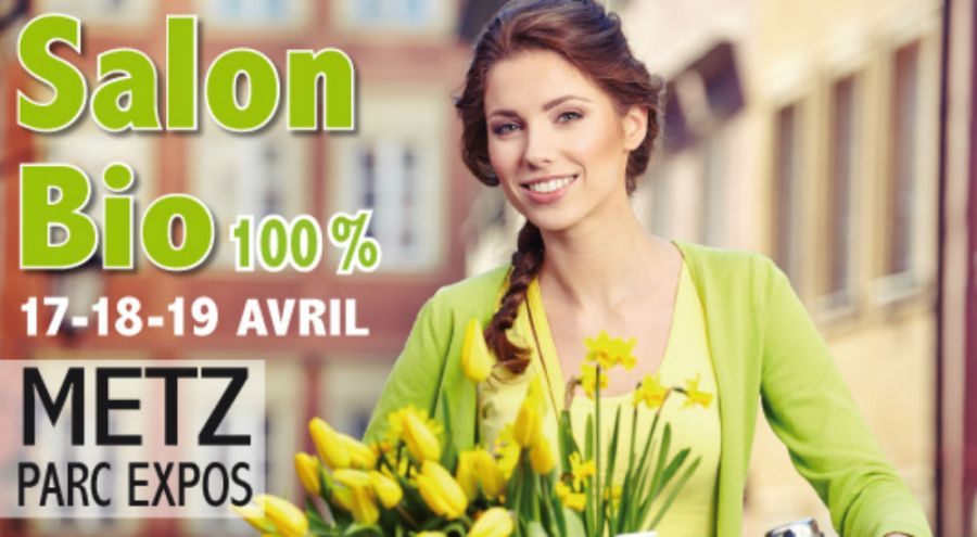 Affiche du salon Bio&Co de Metz du 17 au 19 avril