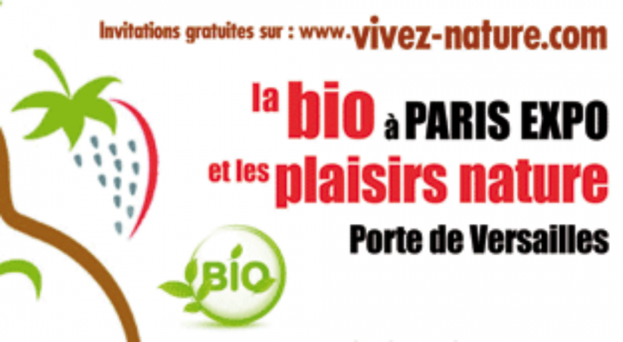 Affiche du salon Naturally Paris