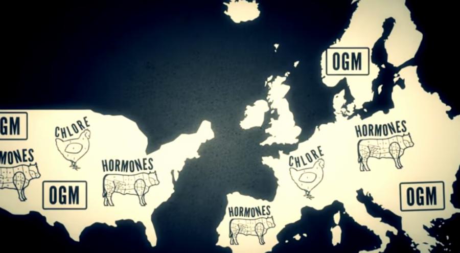 Cartes des Etat-Unis et de l'Europe illustrées