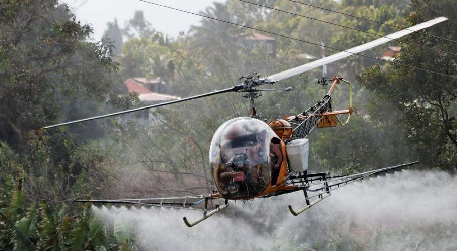 La Colombie interdit l'épandage de Roundup