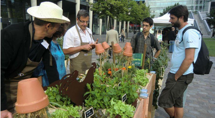 Animation jardinage - Printemps Bio 2012