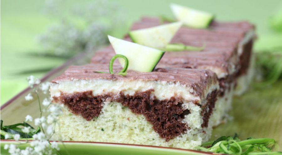 Cake au chocolat et à la courgette