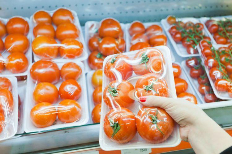 Tomates en barquette