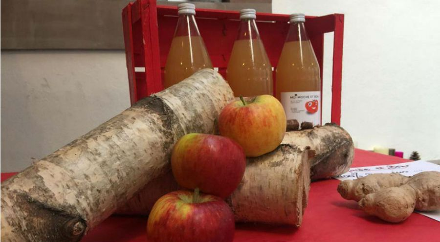 Les jus de pommes moches de Moi Moche et Bon