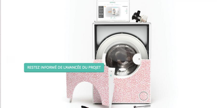 Le prototype de la machine à laver l'Increvable