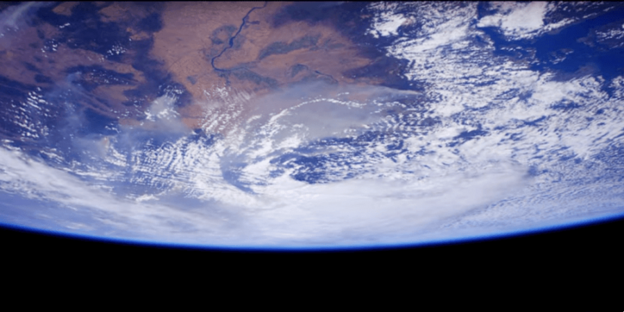 la Terre vu de l'espace
