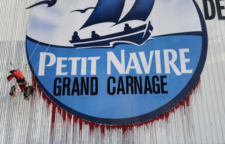 Logo du Petit Navire tagué par WWF