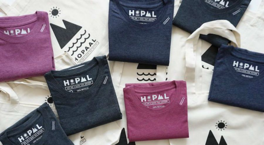 des t-shirts Hopaal