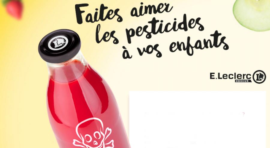 des pesticides dans un jus de fruits
