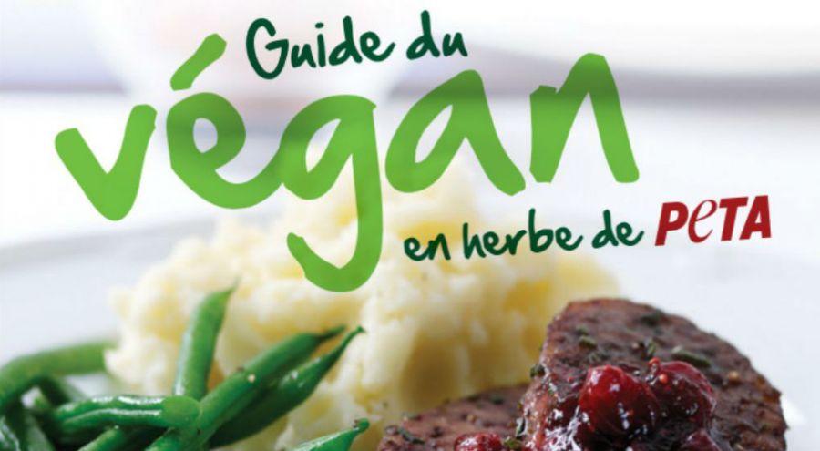 La couverture du Guide du Végan en herbe