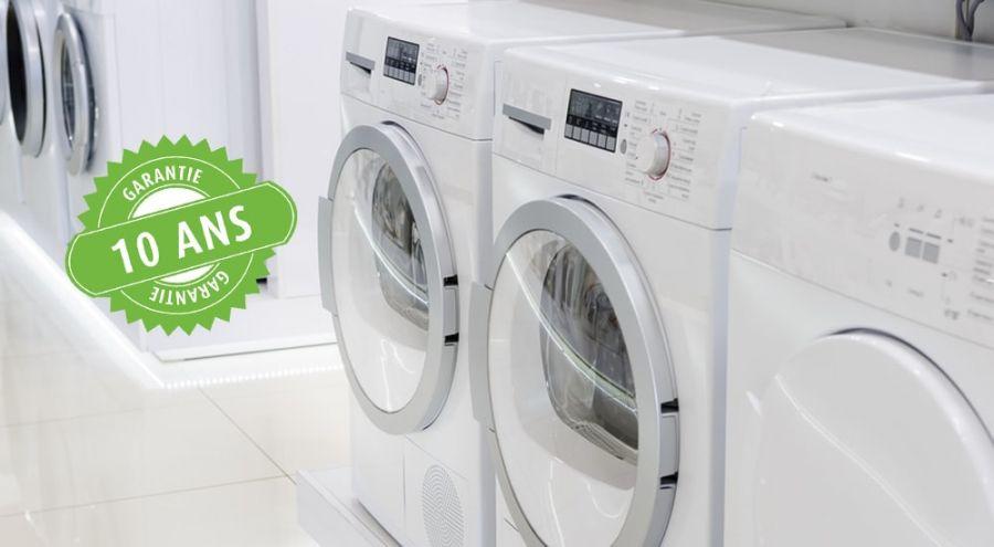 des machines à laver garanties 10 ans