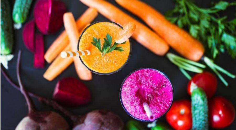 des jus de fruits et légumes pour une cure detox