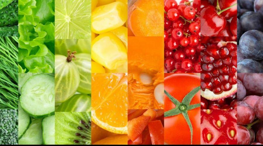 Découvrez les bienfaits des fruits et légumes en fonction de leurs couleurs