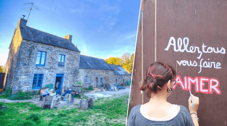 Kerlanic : cette communauté vit en autonomie en Bretagne