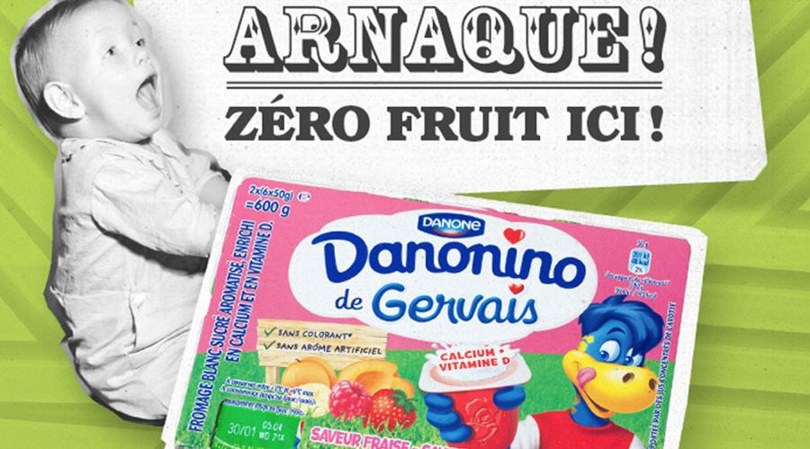 Le géant Danone épinglé pour ses yaourts aux fruits sans fruits