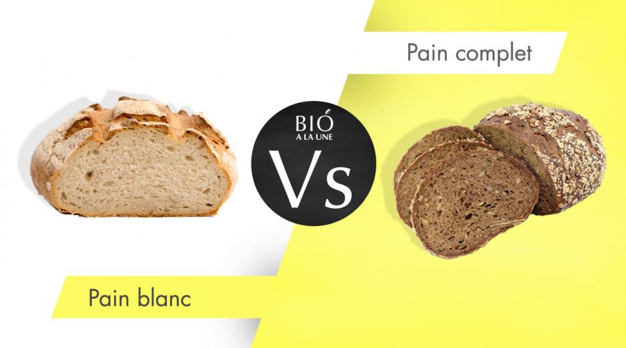 Pain complet ou pain blanc, quel est le plus sain ?