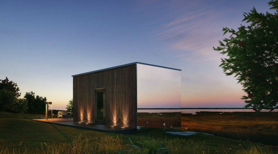 Tiny House : une maison miroir pour vivre en fusion avec la nature