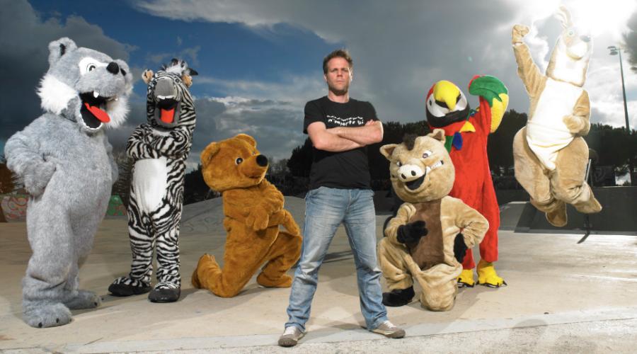 L'humoriste Rémi Gaillard lance son festival pour la cause animale