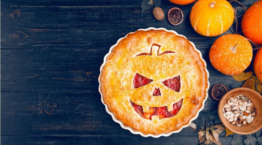 Découvrez la délicieuse recette de notre terrifiante tarte d'Halloween