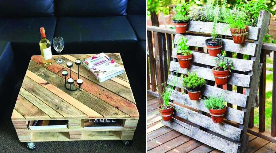 palette en bois 10 utilisations pour une d co r cup. Black Bedroom Furniture Sets. Home Design Ideas
