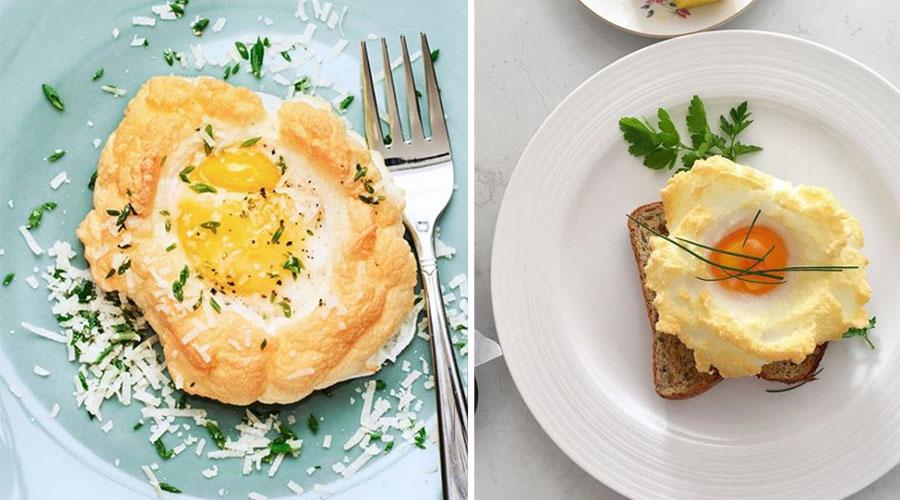 Aérez vos petits déjeuner avec le cloud egg