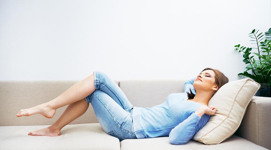 Rester chez soi et ne rien faire est bon pour la santé