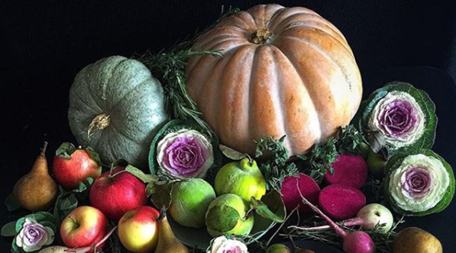 Fruits et légumes moches sublimés par une photographe