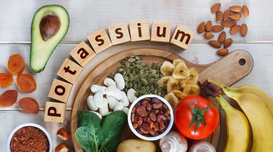 aliments potassium