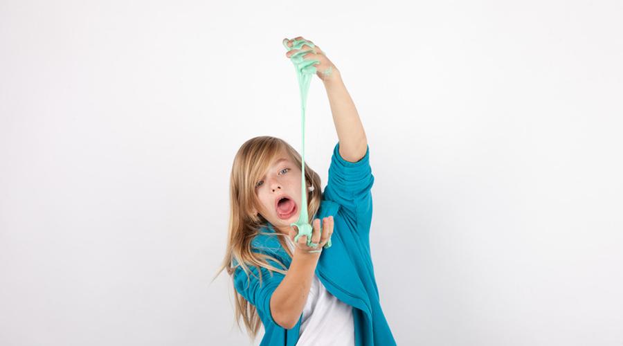 Jeux Pour Enfants Attention à La Fabrication Maison Du Slime Bio