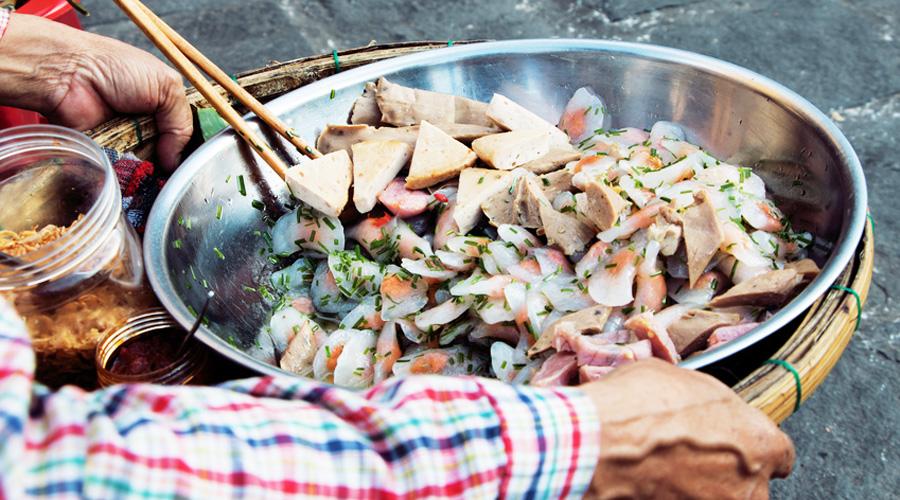 repas en Asie