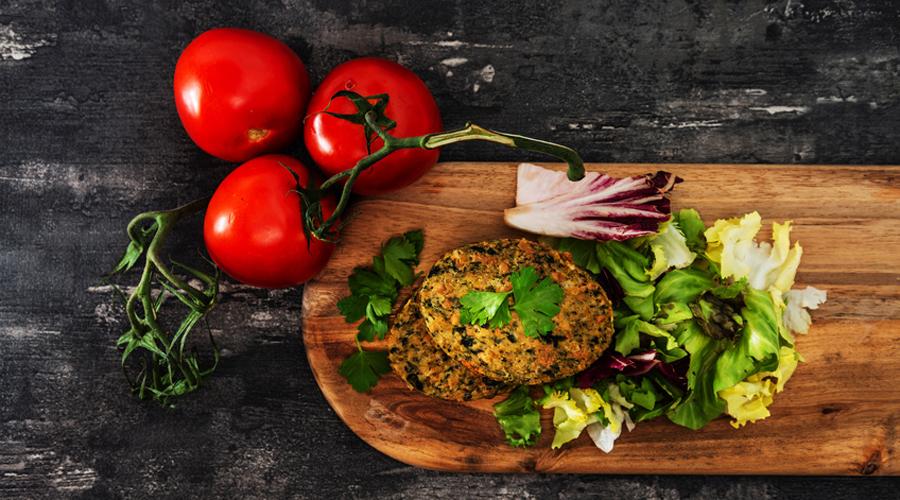 jus végétaux et viande végétal