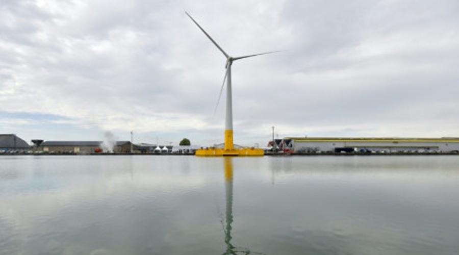 Floatgen, l'éolienne flottante