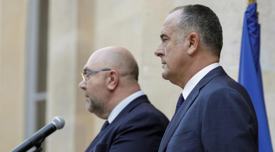 Didier Guillaume et Stéphane Travert