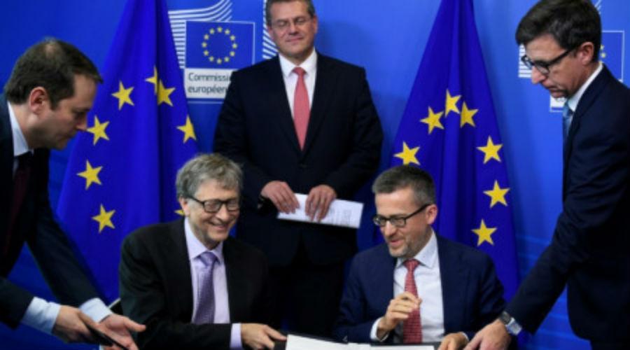 Réchauffement climatique : l'UE et Bill Gates lancent un fonds d'investissement