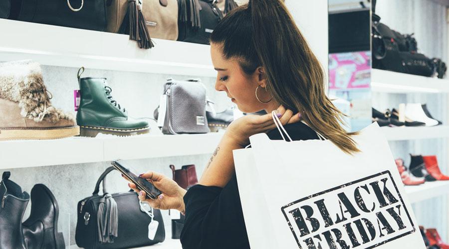 Femme et shopping