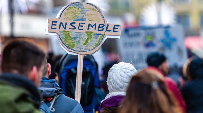 manifestation pour le climat à Paris