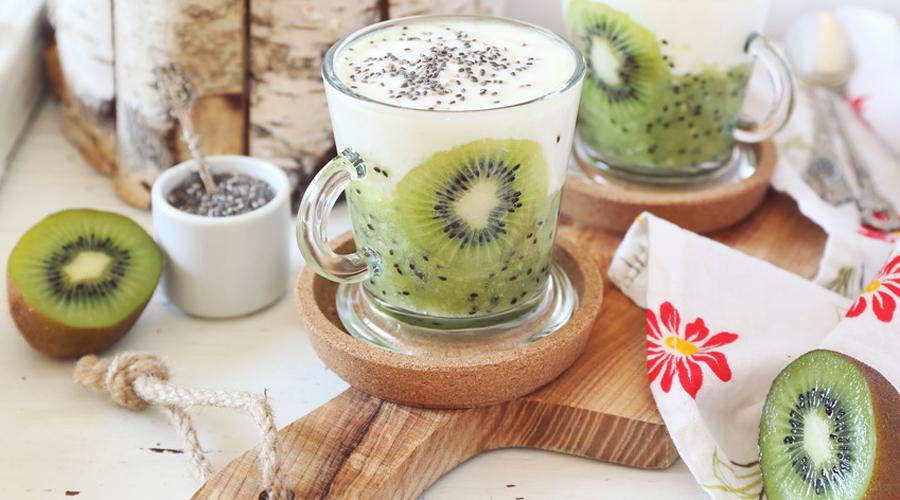 Yaourt au kiwi