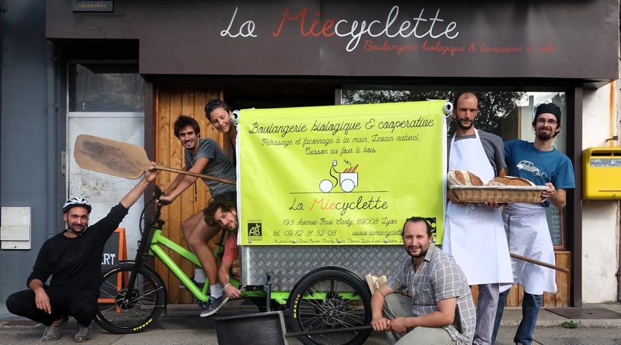 La Miecyclette, une boulangerie bio qui livre son pain à vélo