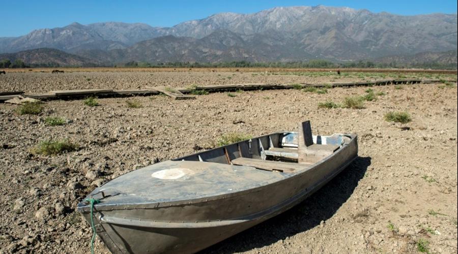 Lac asséché Chili