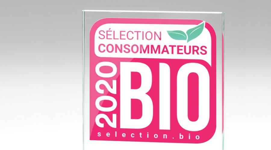 trophée sélection consommateurs bio 2020