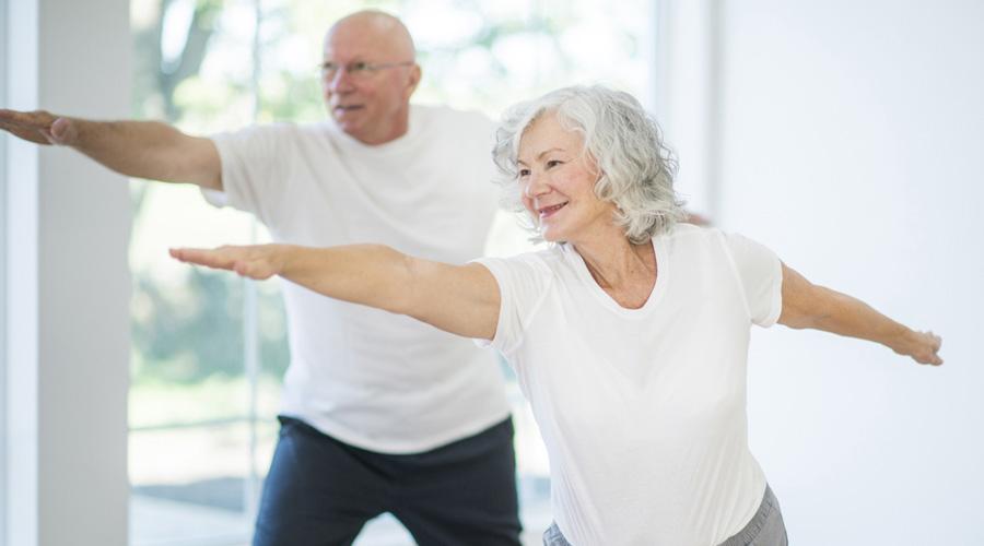 Une heure d'exercice physique par semaine préserve la mobilité des seniors